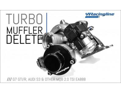 Turbo Muffler Delete RacingLine pour Volkswagen Golf 7 GTI 2.0 TSI 220cv 230cv EA888 Gen.3