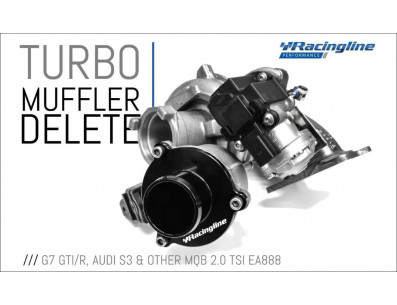 Turbo Muffler Delete RacingLine pour AUDI TT 8S Mk3 2.0 TFSI 230cv EA888 Gen.3