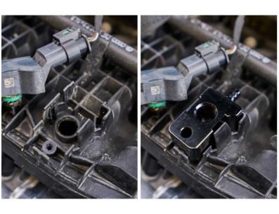 Adaptateur manomètre de Turbo CTS Turbo pour Skoda Octavia 5E VRS