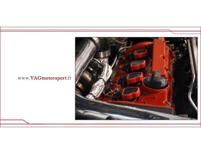 4 Bobines d'allumage renforcés NGK pour AUDI Volkswagen moteur 1.8T 20vt 180cv 210cv 225cv 06E89001 / 06E905115F