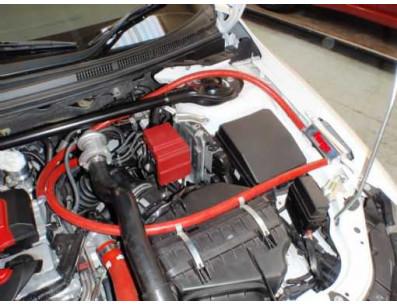 Récupérateur d'huile TURBO Oil Catch Can FORGE pour Mitsubishi Lancer EVO 10