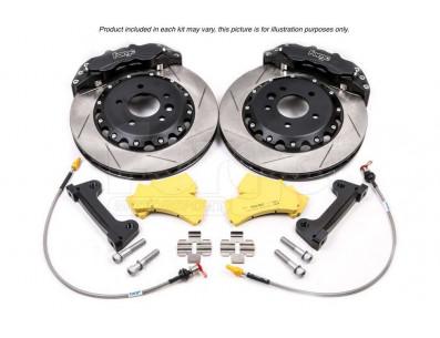 Kit gros freins disques 330x32mm étriers 6 pistons FORGE pour Volkswagen Golf 4 R32