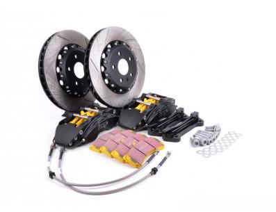 Kit gros freins disques 330x32mm étriers 6 pistons FORGE pour Volkswagen Golf 5 1.4 TSI 140cv
