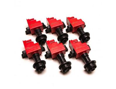 Pack de 6 Bobines d'Allumage Renforcées HP Ignition pour Nissan Skyline R34 GT-T NEO RB25DET