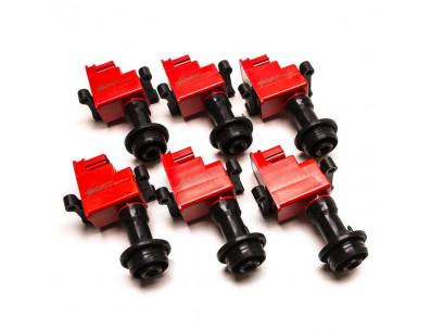 Pack de 6 Bobines d'Allumage Renforcées HP Ignition pour Nissan Skyline R33 Spec 2 RB25DET