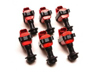 Pack de 6 Bobines d'Allumage Renforcées HP Ignition pour Nissan Skyline R33 RB26DETT