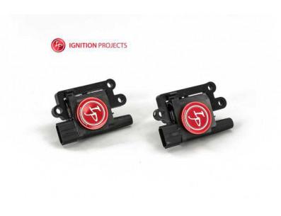 Pack de 4 Bobines d'Allumage Renforcées IGNITION PROJECTS pour Mitsubishi Lancer Evolution 4 à 9 2.0L Turbo 4G63T