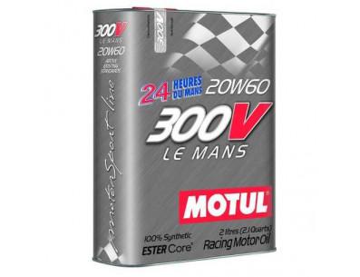 Huile Motul 300V Le Mans 20w60 (Bidon de 2L)