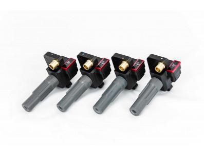 Pack de 4 Bobines d'Allumage Renforcées IGNITION PROJECTS pour Subaru Impreza WRX STI 2.5L Turbo 2008+