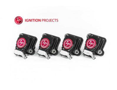Pack de 4 Bobines d'Allumage Renforcées IGNITION PROJECTS pour Volkswagen Golf 4 1.8 Turbo 20VT 150cv