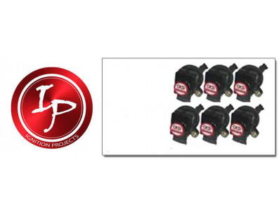 Pack de 6 Bobines d'Allumage Renforcées IGNITION PROJECTS pour VOLVO S80 T-6 2.8 2.9 Turbo