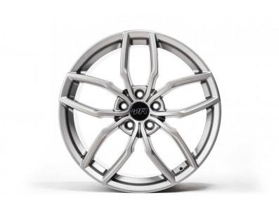 1 Jante RacingLine R360 Gunmetal Grey en R360 Silver Finish en 19x8.5 ET44 5x112