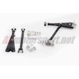 Kit Tirants de suspensions avant et triangles Réglables Uniball AKMotorsport Pour Volkswagen Golf 6 GTI  TDI R 4Motion