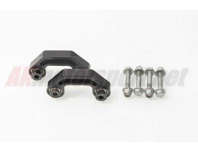 Jeu de Biellettes de barre stabilisatrice AVANT AKMotorsport pour Audi A4 B6 Quattro