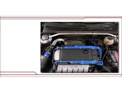 Jeu de fils d'allumage 10mm Bleu pour VOLKSWAGEN Golf III 2.8 2.9 VR6