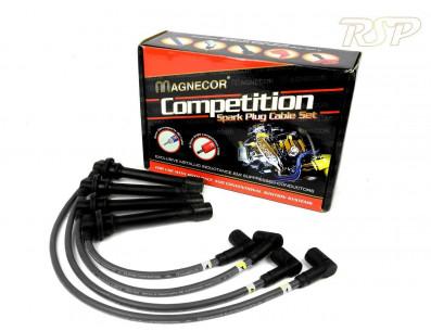 Fils de bougies renforcés MAGNECOR pour FIAT Uno Turbo 1.3 ie Mk1 105cv de 1983 à 1989
