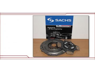 Kit embrayage renforcé Sachs 4 patins + volant moteur VW Golf 5 mk5 R32