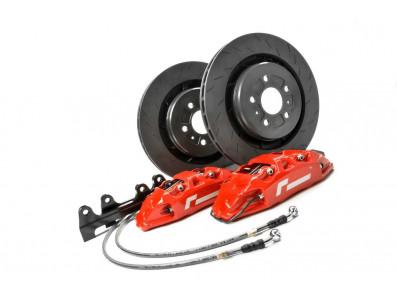 Kit gros freins avant disques 345x28mm étriers 4 pistons VW RacingLine pour plateforme MQB VAG