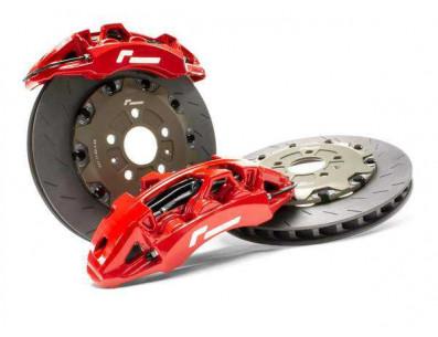 Kit gros freins avant disques 355mm étriers 6 pistons VW RacingLine pour Golf 7 Leon Mk3 S3 8V TT Mk3