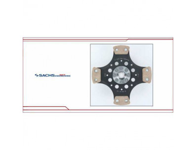 Disque Embrayage renforcé 4 patins Sachs racing sre 600Nm POLO 6R 2.0 WRC 180cv 220cv