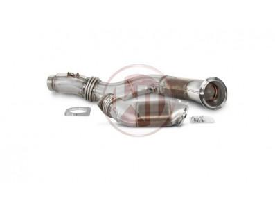 Descente de Turbo Downpipe WAGNER TUNING avec cata 200 Cellules norme EURO 6 pour BMW M4 F82 F83