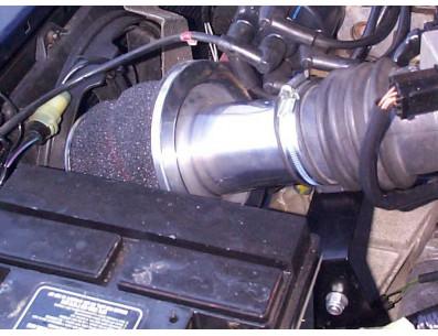Kit Admission Direct Pipercross PK109 pour MG ZR 160 1.8L 16V VVC à partir du 09/2001