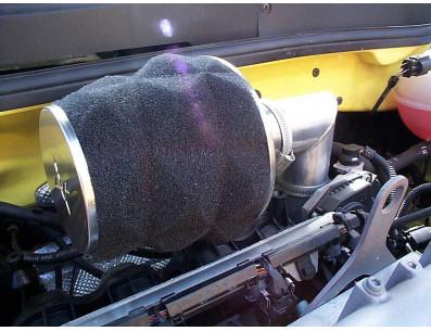 Kit Admission Direct Pipercross PK198 pour VOLKSWAGEN Polo Mk5 1.4L 16V 75cv du 10/1999 au 11/2001