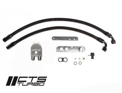 Oil Catch Can récupérateur d'huile CTS Turbo pour Audi A4 B7 2.0 TFSI
