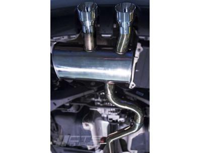 Demi-Ligne CATBACK CTS TURBO pour Volkswagen Golf 5 R32 3.2L 250cv BUB