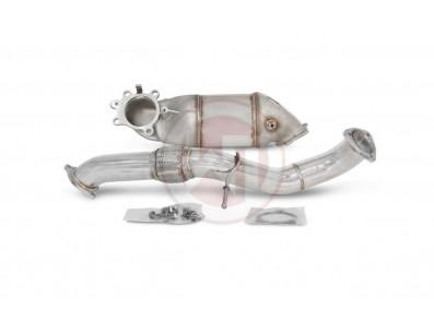Descente de Turbo Downpipe WAGNER TUNING avec cata 300 Cellules EURO 6 pour Honda Civic FK7 1.5 VTec Turbo 182cv