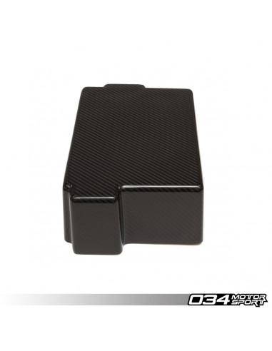 034Motorsport Carbon Battery Cover for Volkswagen Gof 7 GTI R Audi S3 8V Seat Leon 3 Cupra 2.0 TFSI