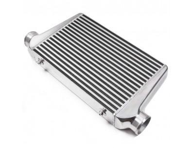 Intercooler aluminium 450x300x76mm entrée sortie 76mm - CXRACING