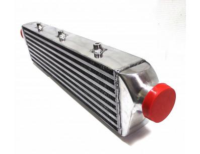 Intercooler aluminium 550x140x65mm entrée sortie 63mm - CXRACING