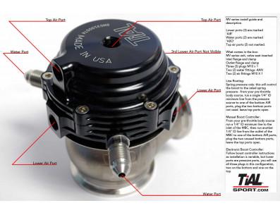 Wastegate externe TIAL 44mm MV-R V-Band
