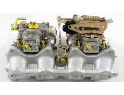 Double carburateur WEBER 45 DCOE Volkswagen Golf 2 GTI 16 soupapes