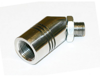 Adaptateur INNOVATE sonde lambda 45° taraudage M12x150