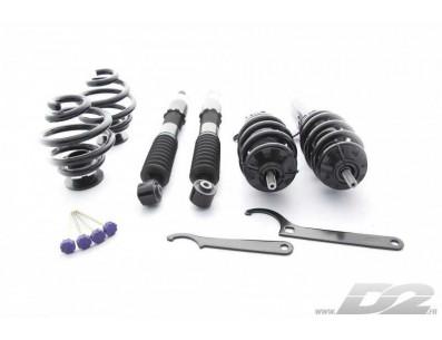 Kit Combinés filetés D2 Racing Street Audi TT 8J Quattro (jambes de force 55mm)