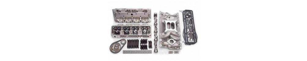 CYLINDER HEAD: camshafts, valves, valve guides, valve stem seal, hydraulic valve lifters