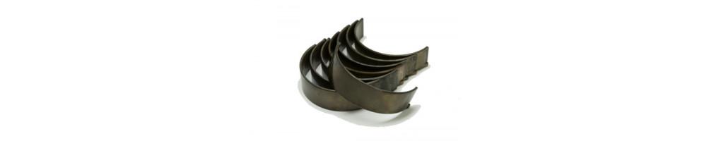 Rod bearings and crankshaft
