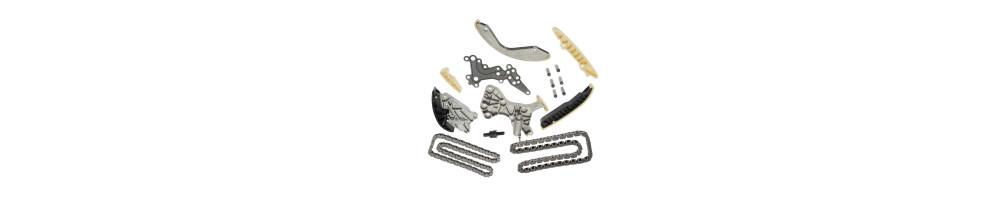 DISTRIBUTION: Chain, belt, kit, tensioner, slide, belt