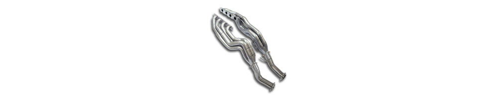 Exhaust manifold for AUDI A6 S6 RS6 cheap in stainless steel, number 1 international delivery !!!
