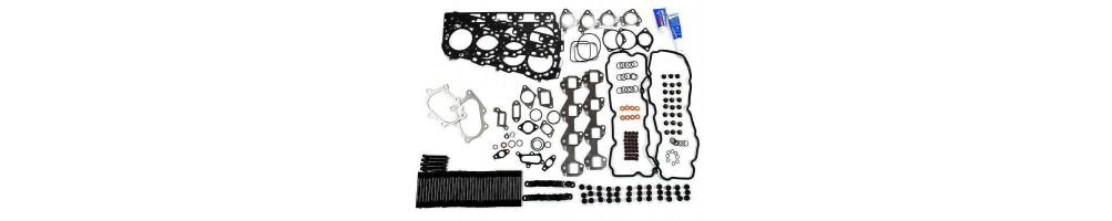 ENGINE GASKETS: cylinder head gasket, rocker cover gasket, high engine gasket, lapping kit, oil seal