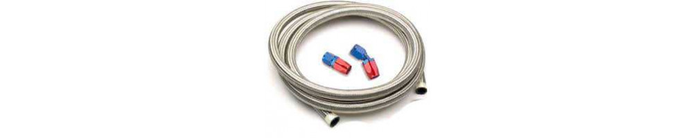 200/210 series braided nylon Dash hose and fitting for oil circuit