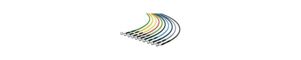 Cheap custom Goodridge HEL brake hoses kit - international delivery dom tom number 1 in France