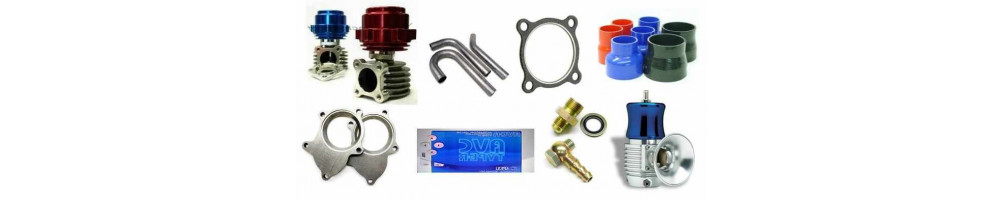 Turbo accessories: water and oil return inlet, thermal sock, gaskets, flange