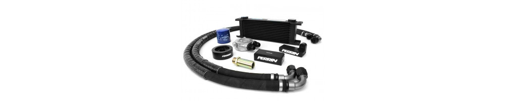 Specific cheap oil cooler kit for your car here - international delivery dom tom number 1 in France