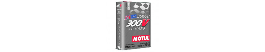 Motul 300v 20w60 Motor Oil Le Mans range at the best lowest price here - cheap - Delivery worldwide DOM TOM