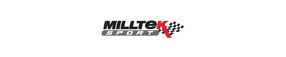 Lignes d'échappement et demi ligne en Inox MILLTEK Sport pas cher - Livraison internationale dom tom numéro 1