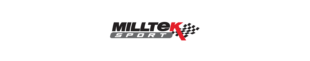 MILLTEK Sport stainless MILLTEK exhaust lines and half line cheap - international delivery dom tom number 1