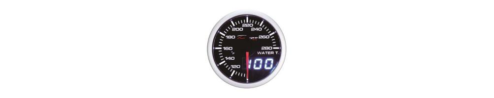 Water temperature manometer